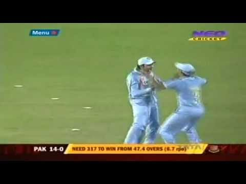 Video: Stunning catch by Rohit Sharma against Pakistan