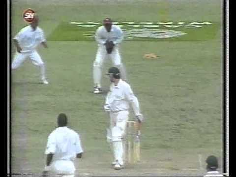 Video: Heated exchange between Steve Waugh and Curtly Ambrose