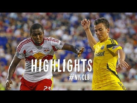 Video: Thierry Henry scores one and assists three as New York Red Bulls beat Columbus Crew 4-1