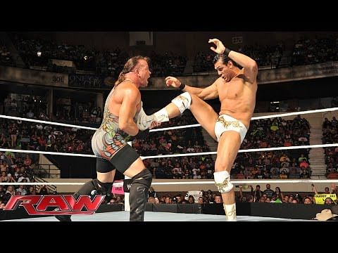 Video: Rob Van Dam vs Alberto Del Rio - WWE Raw, July 14, 2014