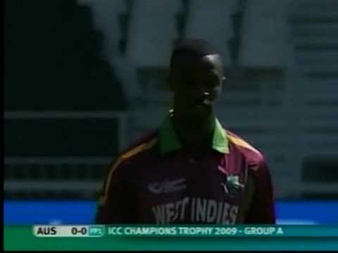 Video: Kemar Roach takes wicket off the first ball of the match - Watson doesn't know what hit him!