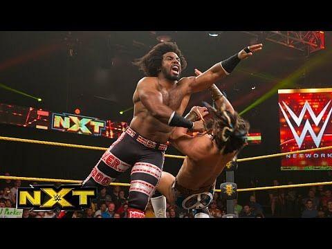 Video: Xavier Woods vs CJ Parker - WWE NXT