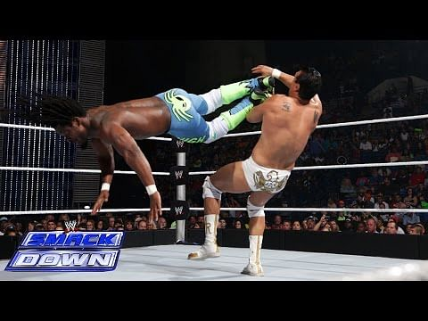 Video: Kofi Kingston vs Alberto Del Rio on WWE SmackDown