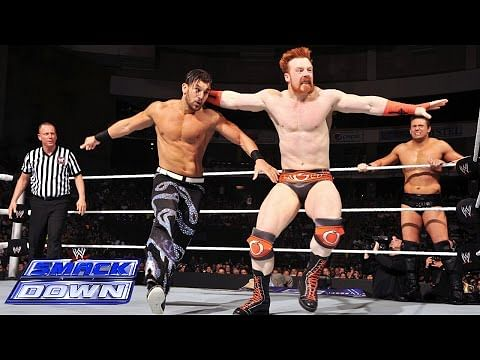 Video: Sheamus & Dolph Ziggler vs Fandango & The Miz on WWE SmackDown