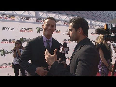 WWE: CM Punk talks