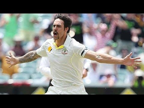 Video: Mitchell Johnson's 7-wicket haul against England