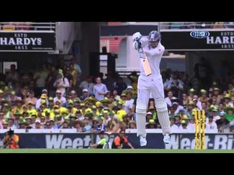 Video: Mitchell Johnson's bouncers v England in Ashes 2013-14