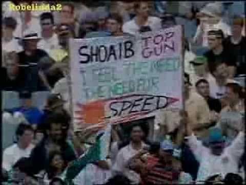 Video: Shoaib Akhtar v Australian batsmen