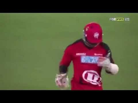 Video: Lasith Malinga's bouncer hits Marlon Samuels on the eye