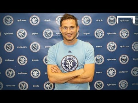 Video: Ex-Chelsea star Frank Lampard excited to start playing for New York City FC