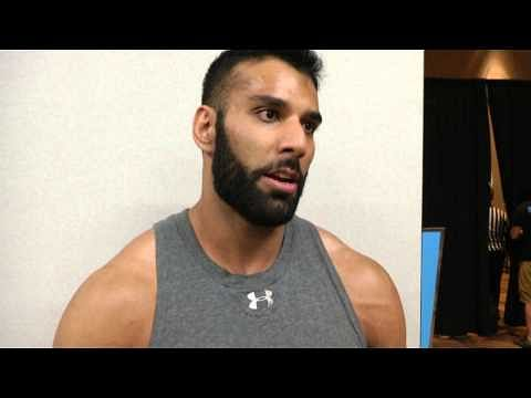 Batista talks about being ripped, Jinder Mahal's first post-WWE Match