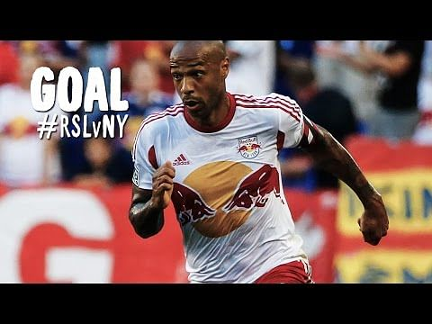 Thierry Henry scores the most casual goal from outside the box