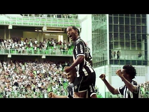 Video: Ronaldinho's best moments at Atletico Mineiro show why he is loved by football fans worldwide