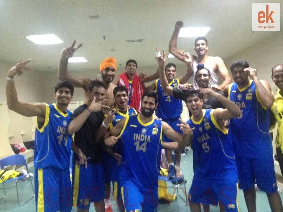 Historic basketball win for India over China at 5th FIBA Asia Cup