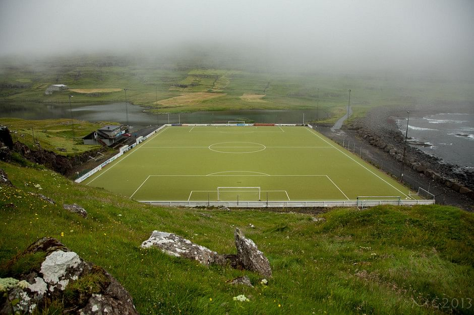 13 Most amazing Football pitches in pictures