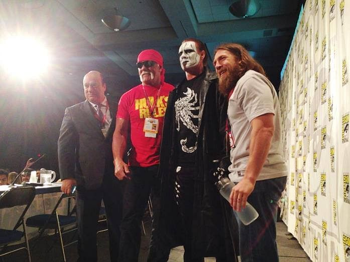 Sting Makes First Ever WWE Appearance at San Diego Comic Con!
