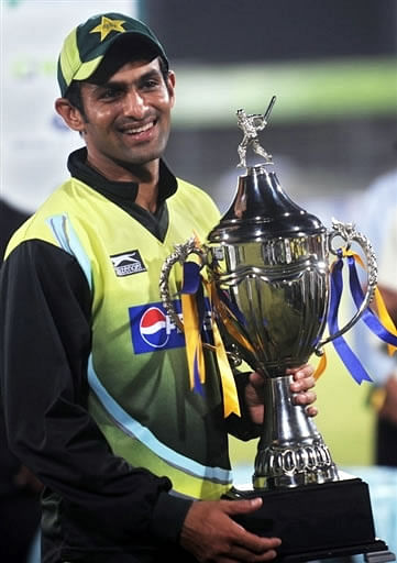 Shoaib Malik's debut in International Cricket