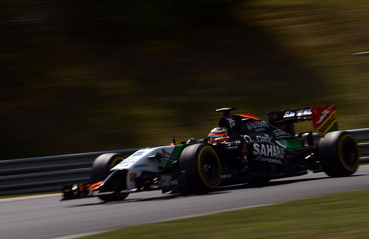 Hungarian Grand Prix: Nico Hulkenberg takes blame for clash with Sergio Perez