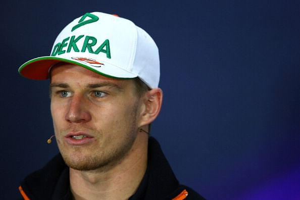 British Grand Prix: Nico Hulkenberg of Force India qualifies in 4th place