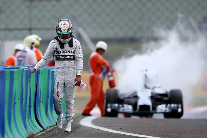 Hungarian Grand Prix: Lewis Hamilton and Kevin Magnussen to start the race from pitlane
