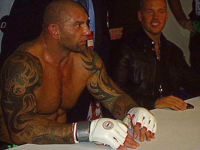 Batista 2014 Tattoos Dave Batista - MMA deb...