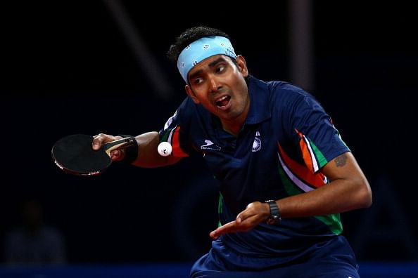 Commonwealth Games 2014: Achanta Sharath Kamal and Shamini Kumaresan reach mixed doubles quarters
