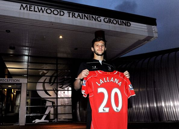 Liverpool's Adam Lallana set to miss start of season after sustaining knee injury
