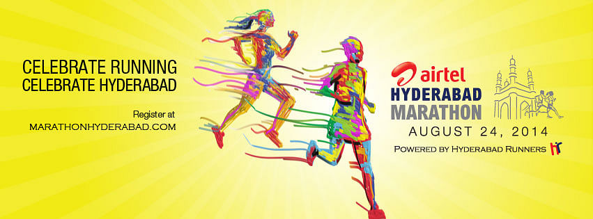 Airtel Hyderabad Marathon will be held on 24th August