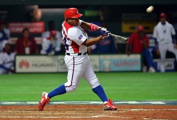 Alfredo Despaigne of Cuba will now be a part of Japan's pro baseball league