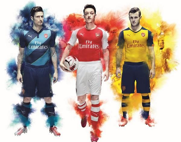 Arsenal Puma official kit now available on Myntra in India