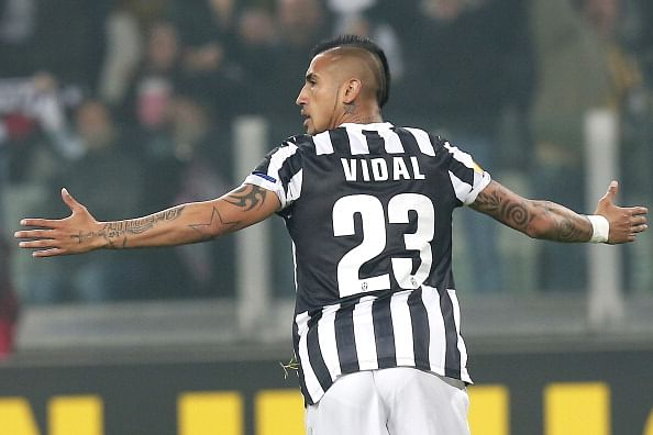Chile midfielder Arturo Vidal is not for sale: Juventus