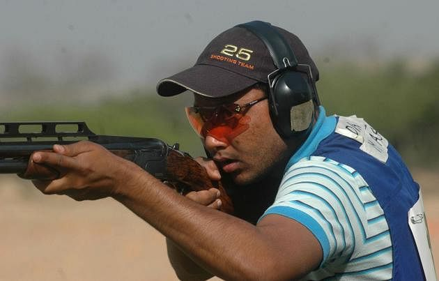 Commonwealth Games 2014: Asab Mohammed wins bronze in men's double trap event