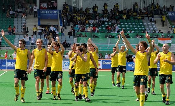 Memories of India's 0-8 defeat to Australia in the 2010 Commonwealth Games final