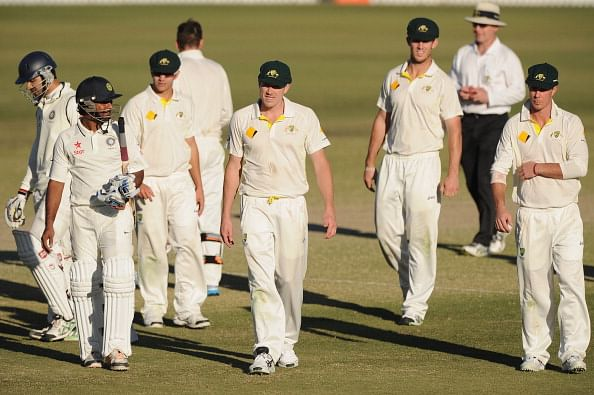 Australia A v India A: Naman Ojha and Ambati Rayudu see off Aussie threat as first unofficial Test ends in draw