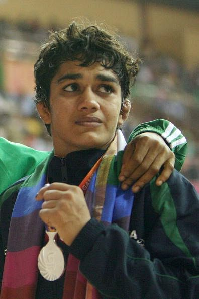 CWG 2014: India's Babita Kumari bags gold medal in 55kg freestyle wrestling