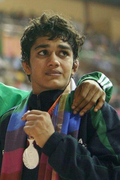 CWG 2014: India's Babita Kumari bags gold medal in 55kg freestyle wrestling