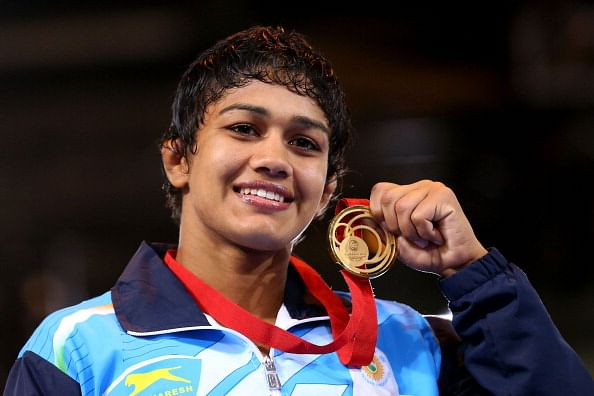 CWG 2014 - Dominating performance by Indian wrestlers continues with 2 more gold medals