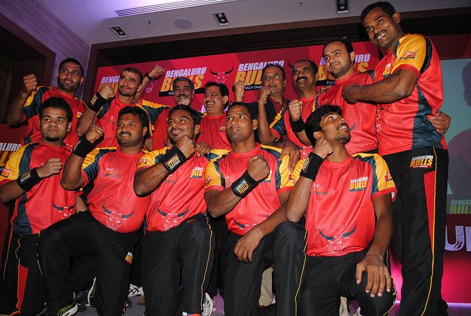 Pro Kabaddi League: Bengaluru Bulls team launched
