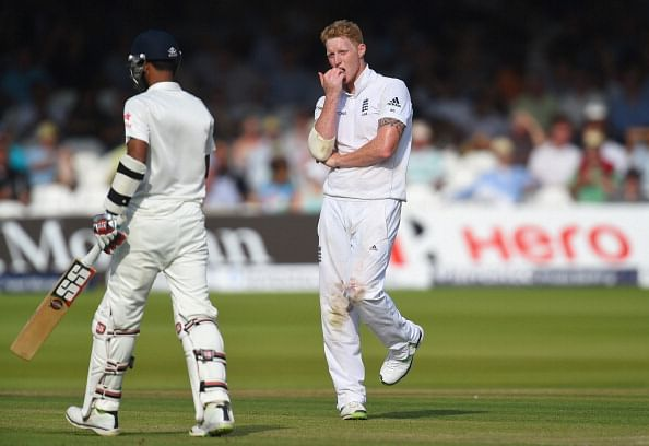Ben Stokes: A long, tough day in the field for England