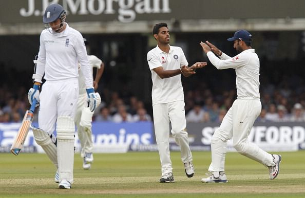 Bhuvneshwar Kumar becomes 13th Indian bowler to get his name on Lord's honours board