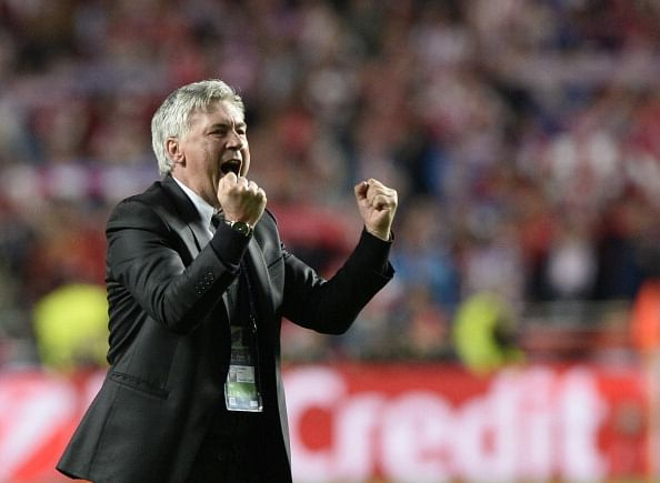 Real Madrid coach Carlo Ancelotti rules out signing another striker