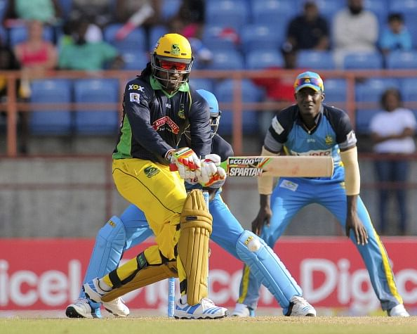 CPL 2014: Blistering Chris Gayle hundred fires Jamaica Tallawahs to victory
