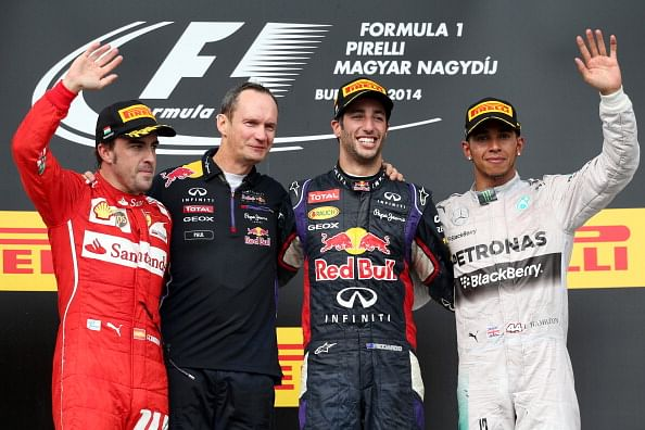 Hungarian Grand Prix: Daniel Ricciardo wins his second race of the season