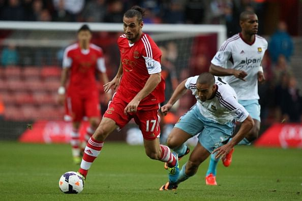 Reports: Southampton's striker Pablo Dani Osvaldo has not yet reported for pre-season training