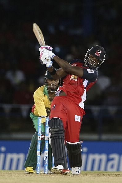 CPL 2014: Last ball six by Darren Bravo stuns Guyana Amazon Warriors as Bravo brothers script unlikely win for Red Steel