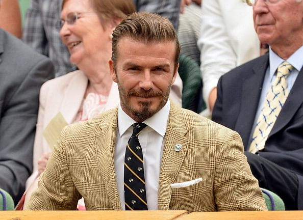 David Beckham to recieve Legend award