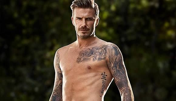 David Beckham - Tattoos