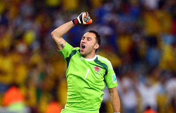Arsenal confirm signing of Colombia and Nice goalkeeper David Ospina