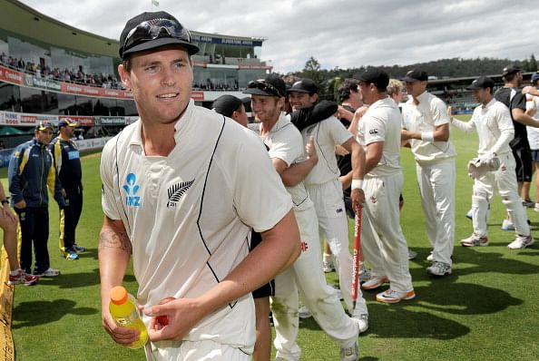 Doug Bracewell replaces Adam Milne in the New Zealand 'A' squad for tour of England