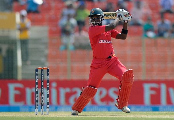 Elton Chigumbura named Zimbabwe ODI and T20 captain
